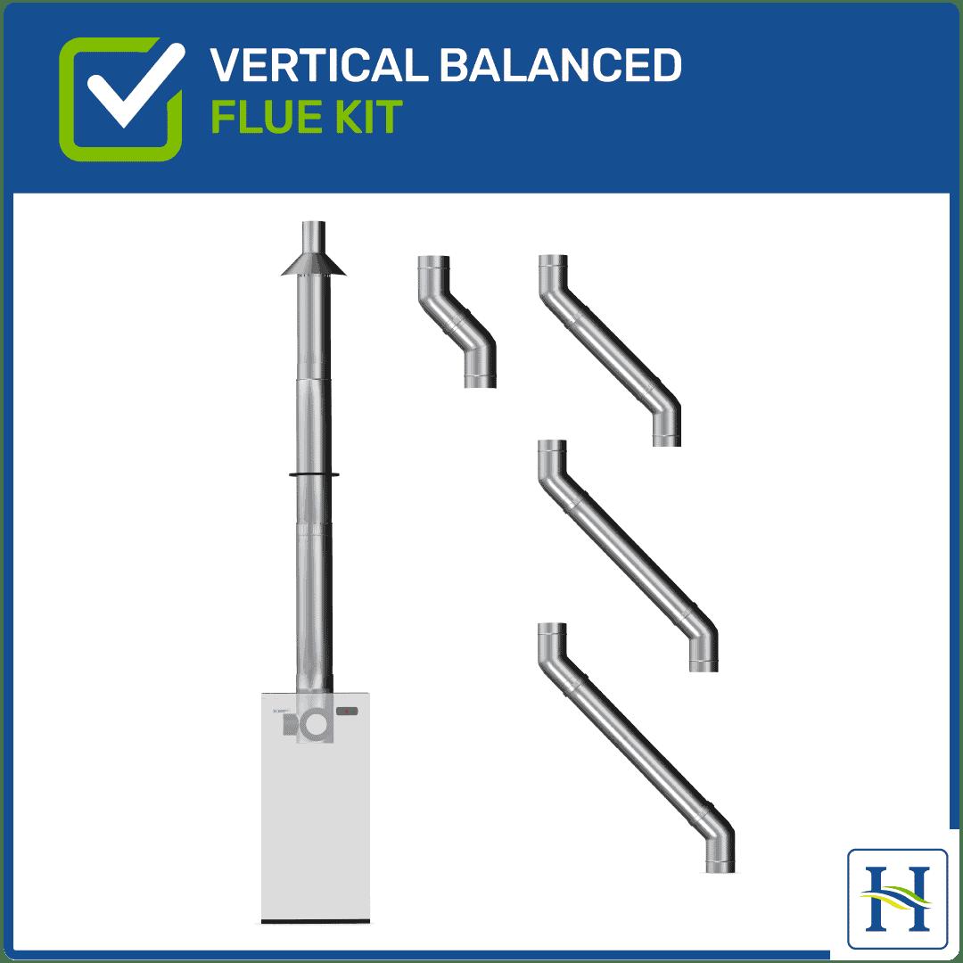 Vertical Balanced Flue Kit