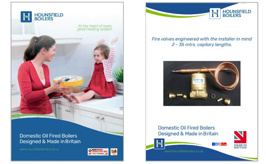 Product brochures guides