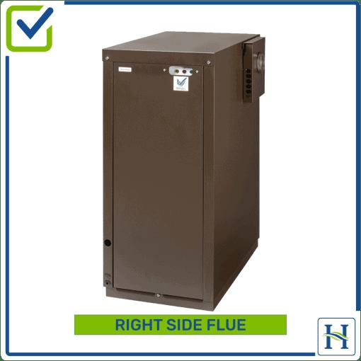 External Boiler Right Side FlueExternal Boiler Right Side Flue