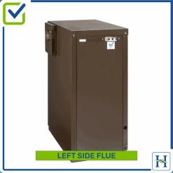External Boiler Left Side Flue