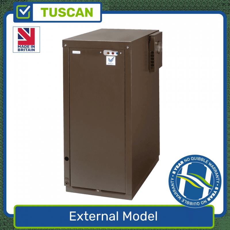 External Model Oil Boiler