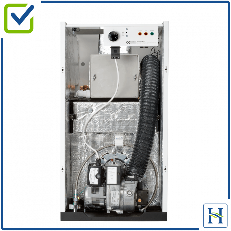 Fully Insulated boilers for quiet boilers