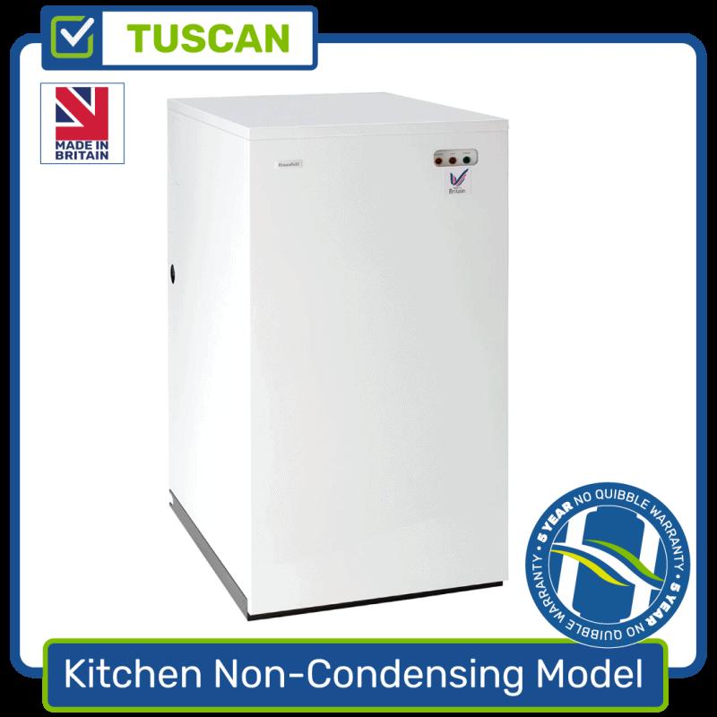 Kitchen Oil Boiler Non-Condensing