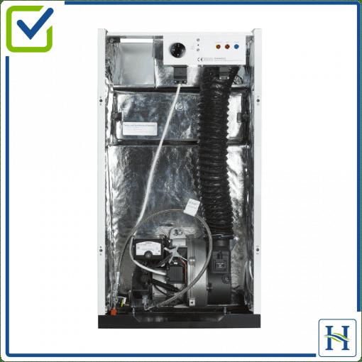 Kitchen boiler model internal view