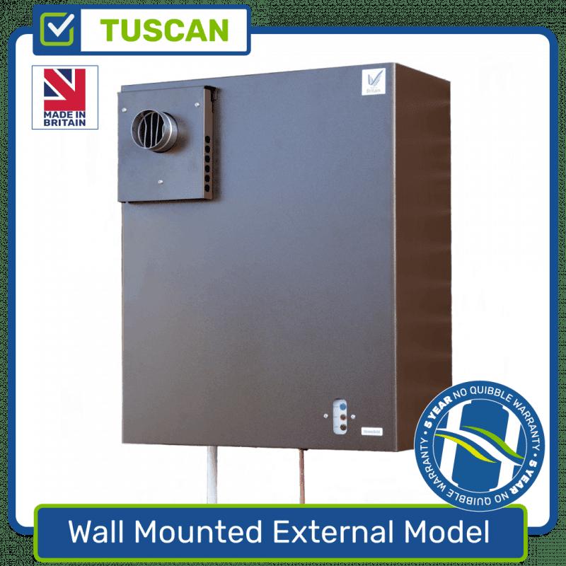 Wall Mounted External Model Boiler