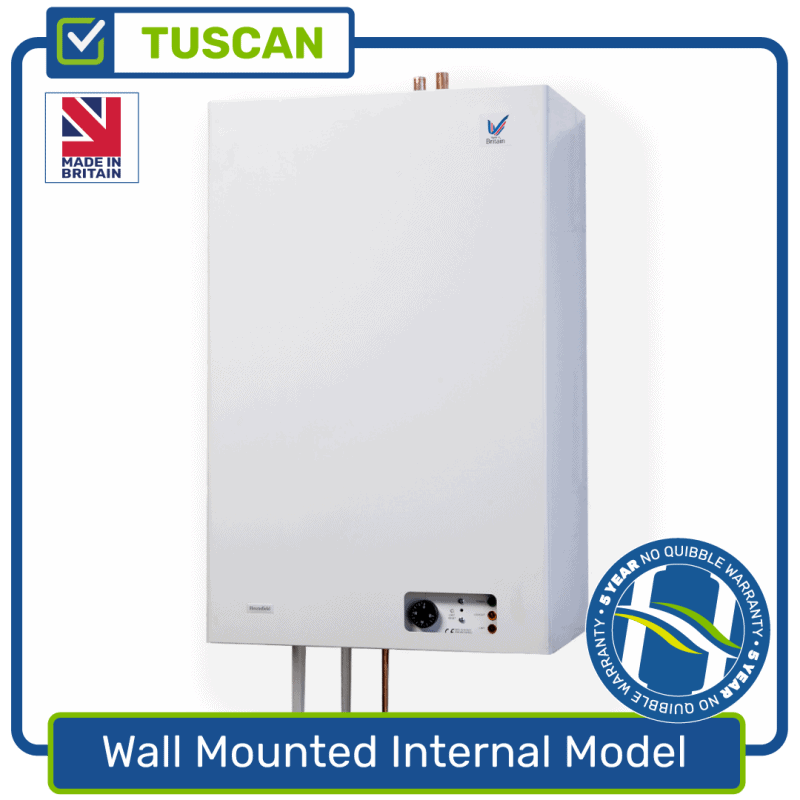 Wall Mounted Internal Model Boiler