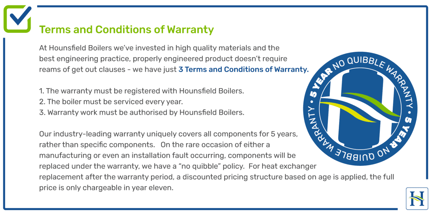 Boiler Warranty Terms & Conditions